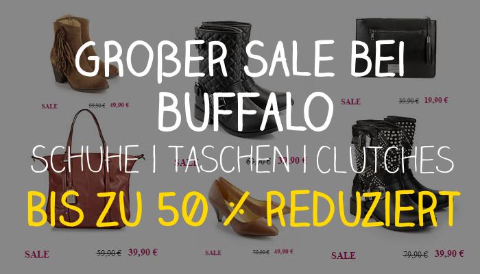 cebc36128b25e8 Großer SALE bei Buffalo – Schuhe und Taschen bis zu 50% reduziert ...