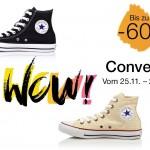 Schnäppchenalarm: Converse Schuhe bis zu 50% günstiger